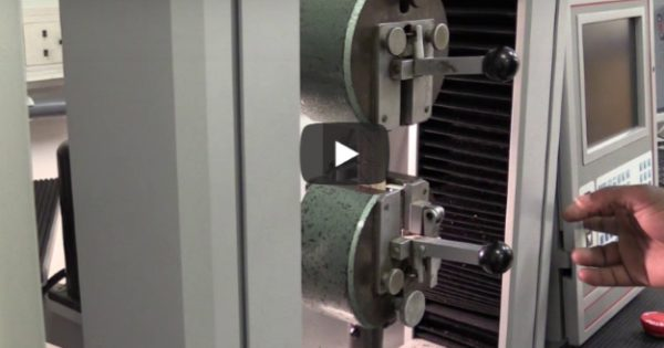 Adhesive testing video