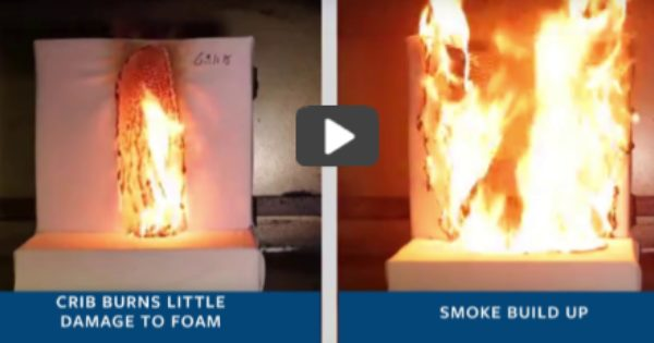 Flammability testing video