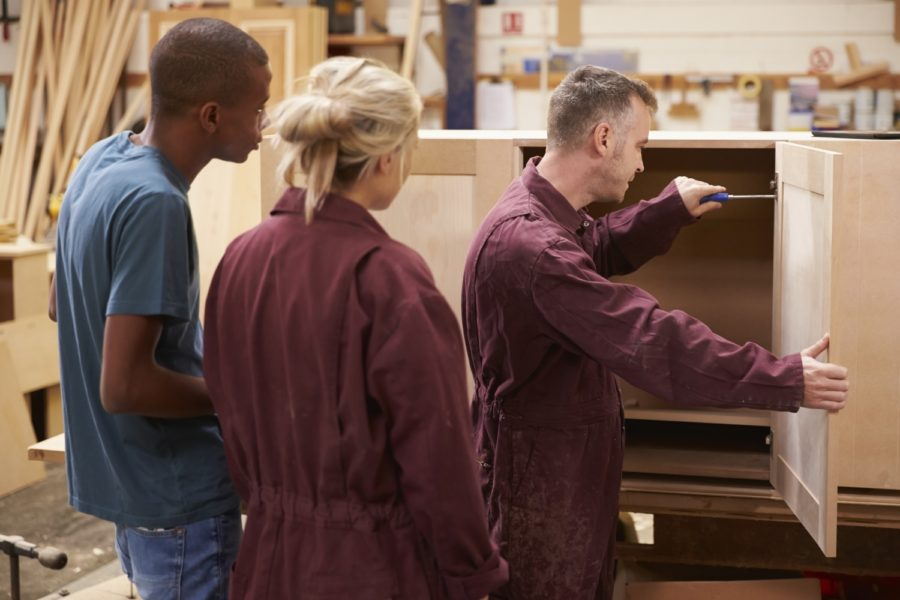 Mind The Gap -  Skills and Training in the Furniture Industry