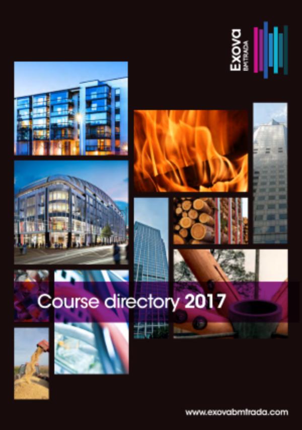 Exova Bm Trada Courses Directory 2017 V2