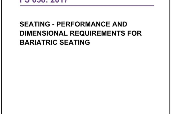 The Furniture Industry Research Association publishes a standard for bariatric seating