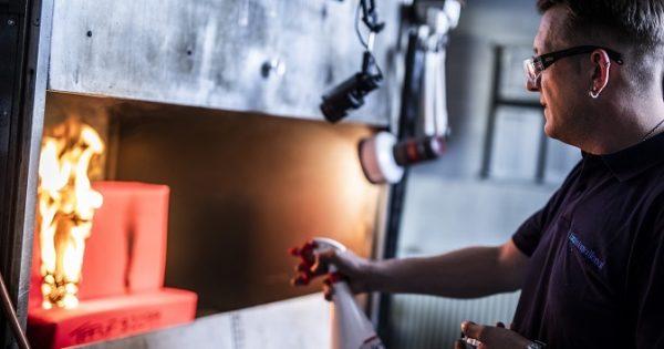 UKAS accredited flammability testing