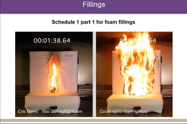 Domestic flammability regulations are the focus of a new training session