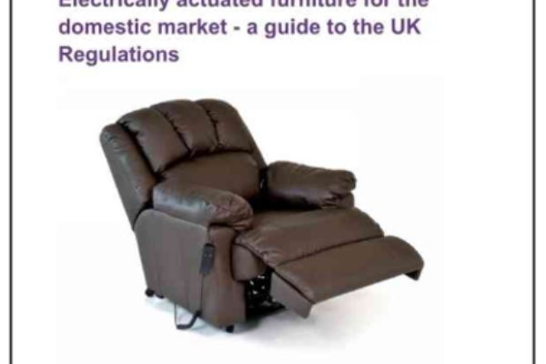 'Electrically actuated furniture for the domestic market - a guide to the UK Regulations' published