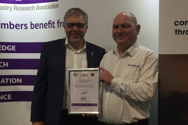 Mobus first fabric supplier to gain 'Certified Company' status under compliance scheme