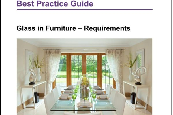 ​New Guide for glass in furniture published